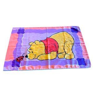 Disney Vintage Pooh Tigger Lady Bug Pillow Case